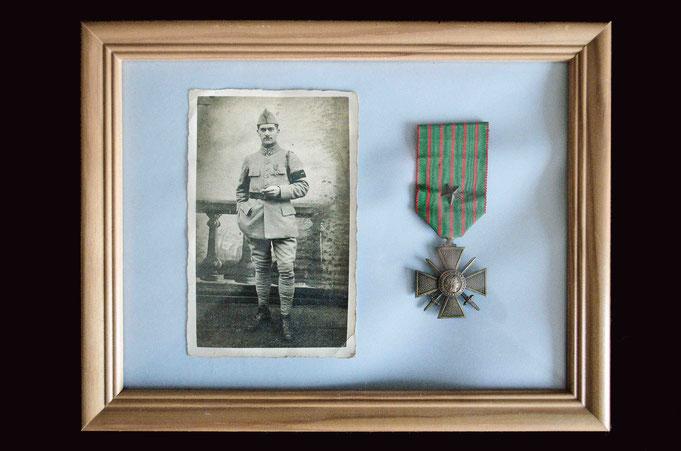 Cadre-objet : Paul Jérémie Combe, Première Guerre mondiale