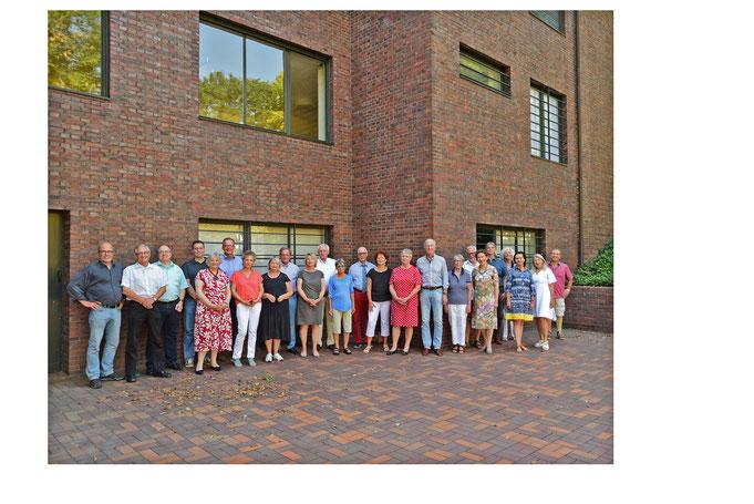Mitgliedertreffen im Sommer 2016 an den Museen Haus Lange und Haus Esters (Foto: Rolf Giesen)