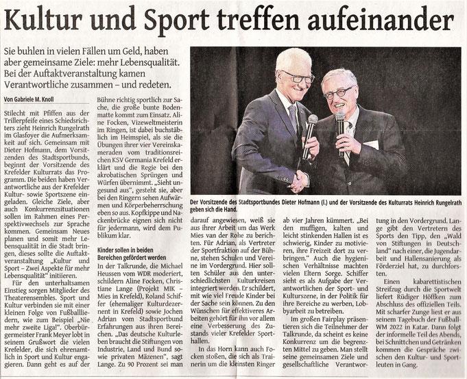 Westdeutsche Zeitung | 14. Oktober 2017