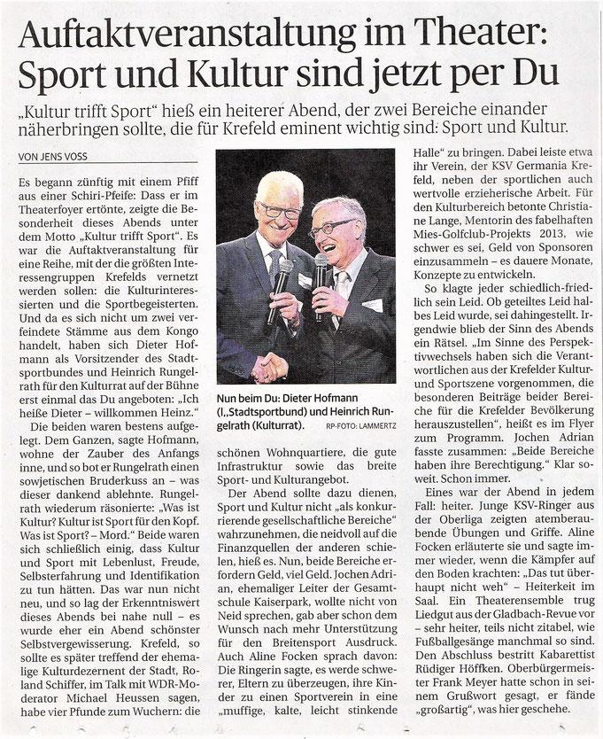 Rheinische Post | 14. Oktober 2017