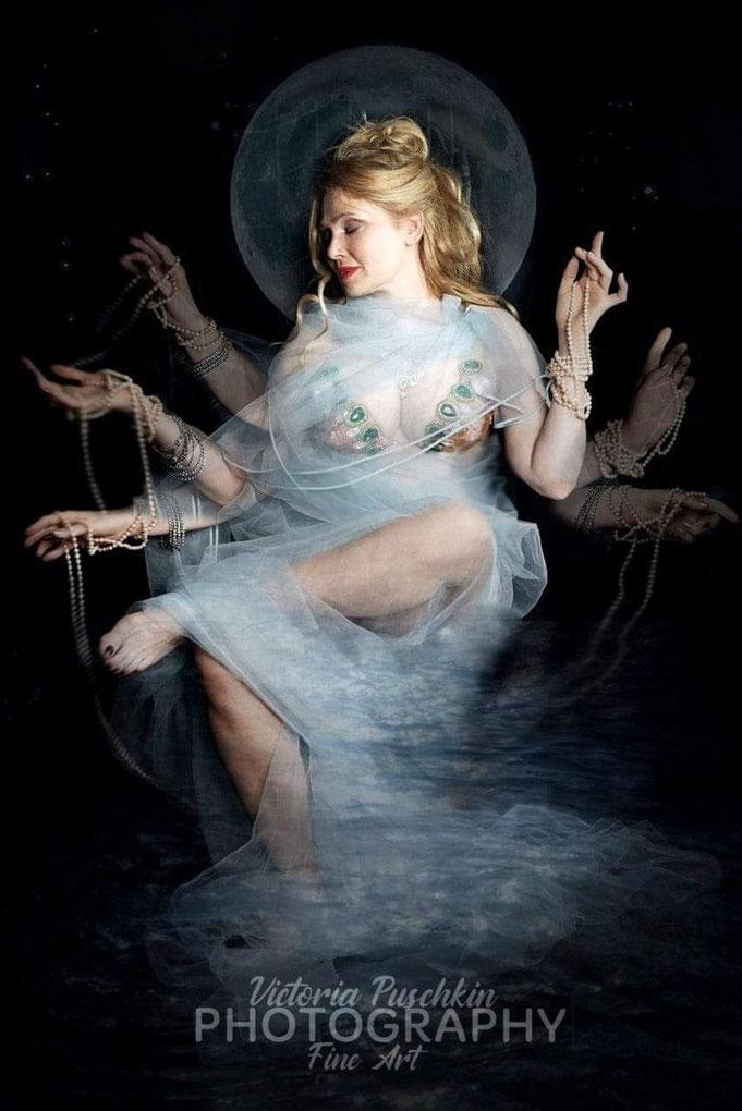 Fotografin Victoria Puschkin, Schauspielerin Silke Nato