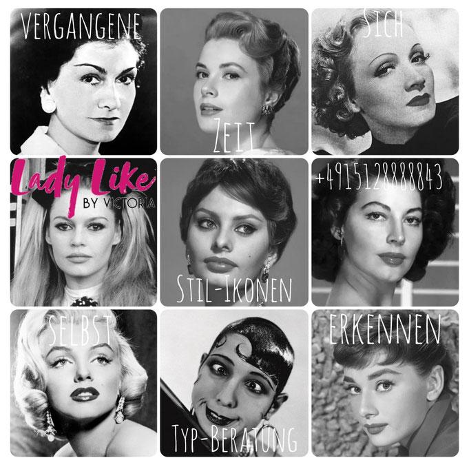LadyLikeVictoria orientiert sich Celebrities unserer Zeit, um modernen zeitgemässen Look zu zaubern!