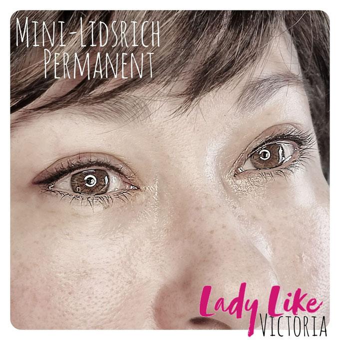 Mini-Lidstrich - so praktisch!  -Autentisches Foto, Erstellt im Studio LadyLikeVictoria, nicht wie bei der Konkurrenz aus dem Fotostock! ACHTE DRAUF!