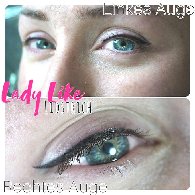 Permanent Make-up Lidstrich Eyeliner