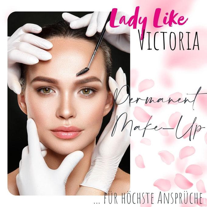Permanent Make-up in Studio LadyLikeVictoria - bestes Preis/Leistungs-Verhältnis