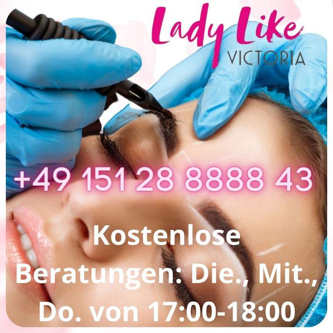 Düsseldorf kostenlose Beratung für Permanent Make-up und Microblading