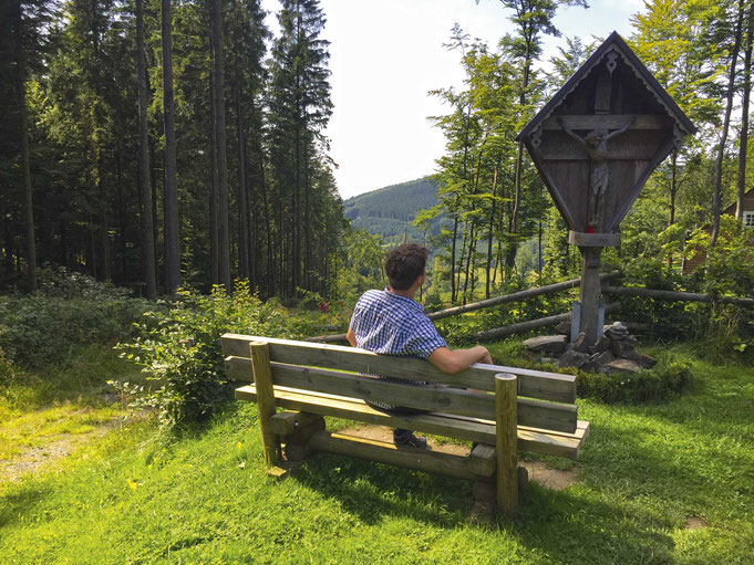 Wandertour im Sommer