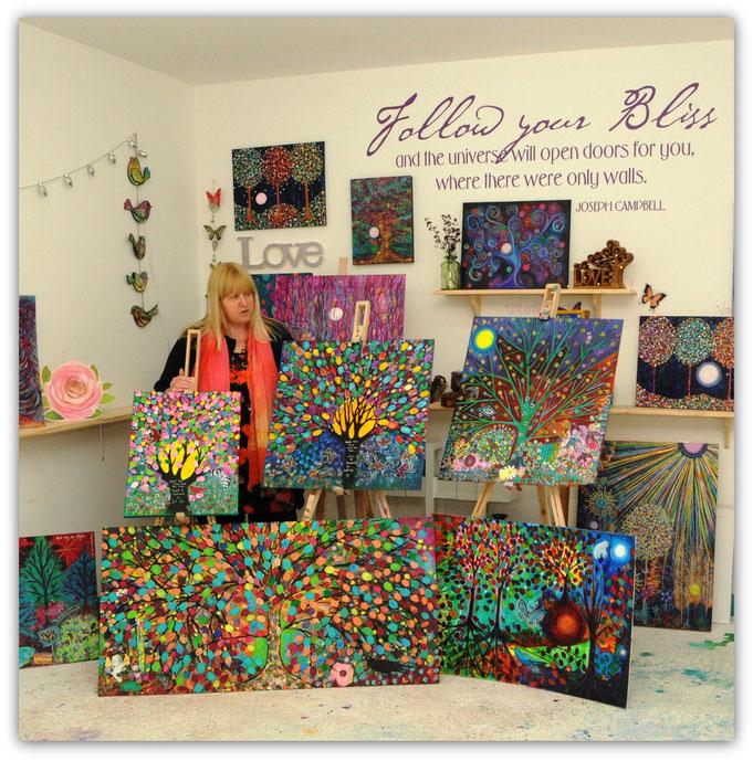 Kassi in her Studio