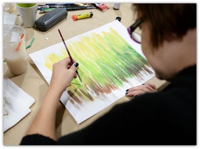 Zenart Scent Painting