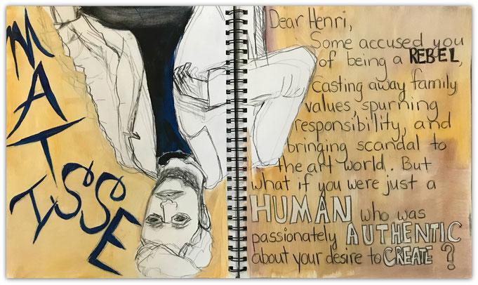 Visual Journaling by Teresa Howard