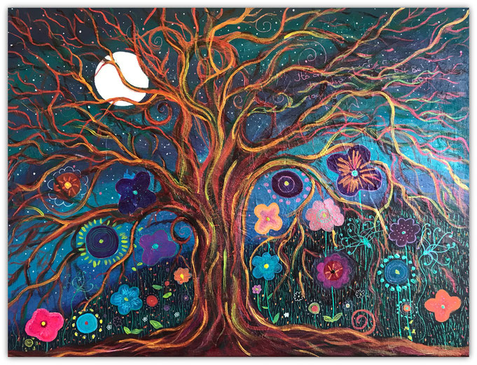Letting Go Tree by Kassi Martin