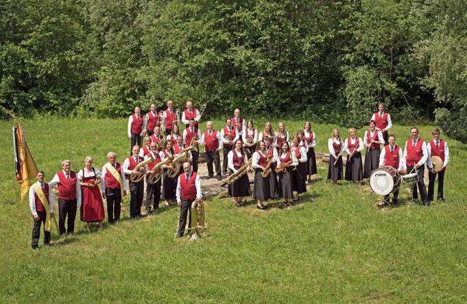 Musikkapelle Großschönach 2018
