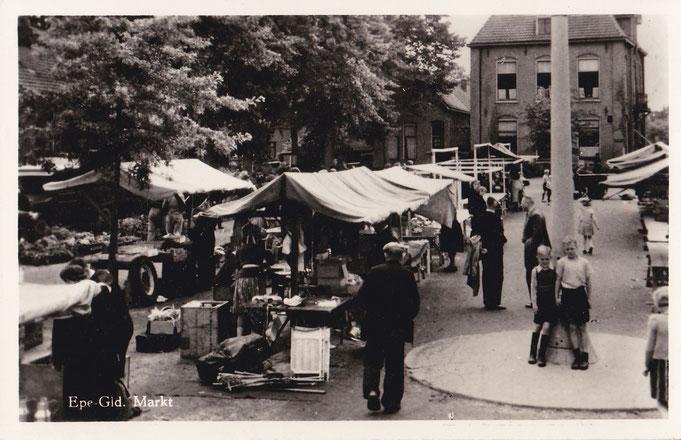 Markt Epe 1954