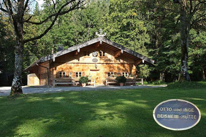 Die Otto und Inge Beisheim-Hütte im Lori Feichta