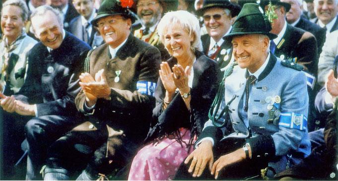 Ehrengäste beim Patronatstag in Rottach Egern