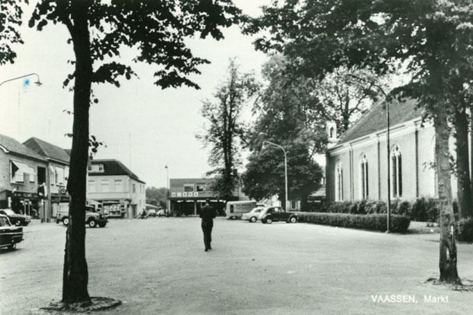 Marktplein Vaassen 1969