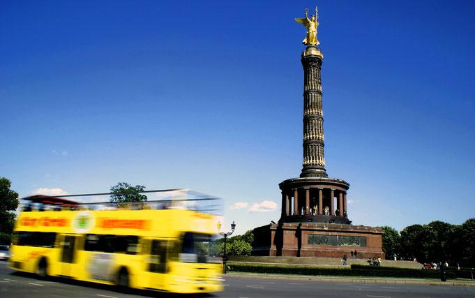 Berliner Schnauze Bustour Berliner Sightseeing Bus tolle Berliner Aussicht, Erlebnistour durch Berlin