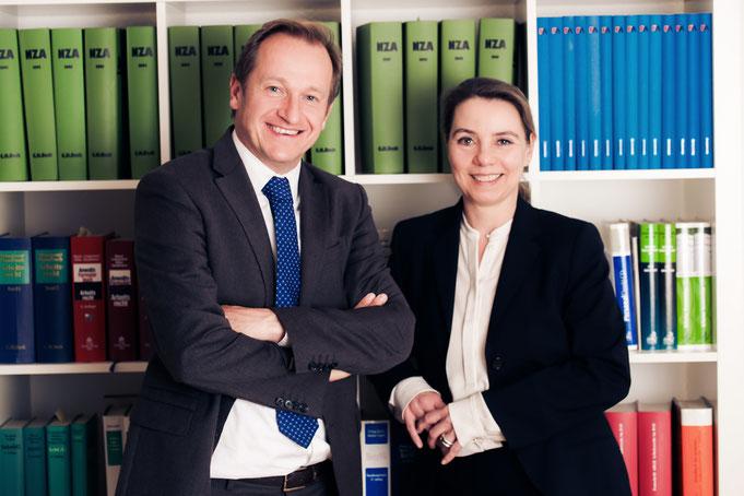 Fachanwälte / Fachanwalt für Arbeitsrecht in Düsseldorf, RA Sabine Riese und RA André H. Tüffers