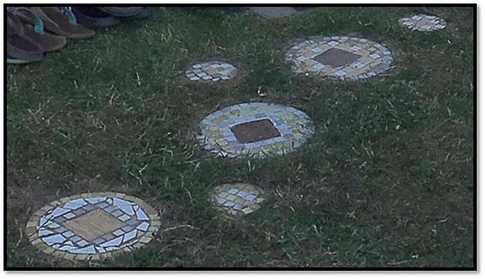 Mosaik Gehsteine
