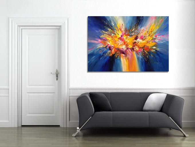 zeitgenössische, abstrakte Malerei