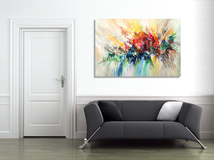 acryl, Gemälde, Original, Kunst, modern, abstrakt