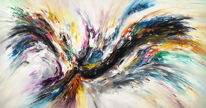 Großes, abstraktes Original. Moderne Malerei