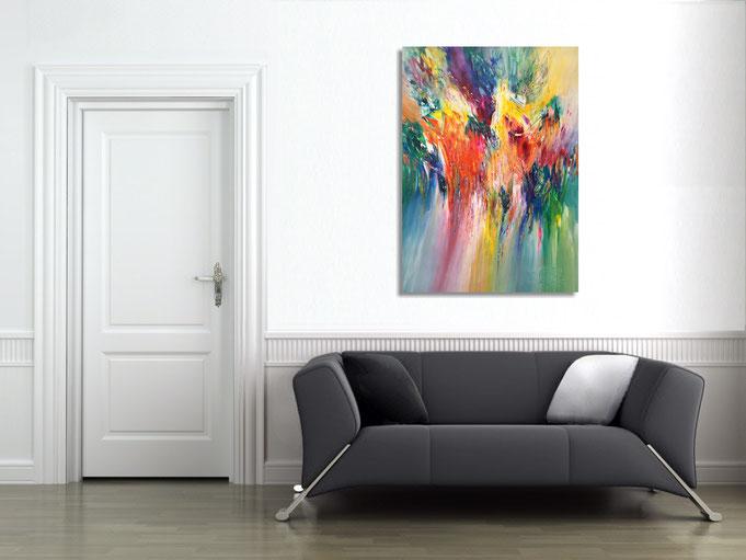 Original moderne Kunst abstrakte Malerei