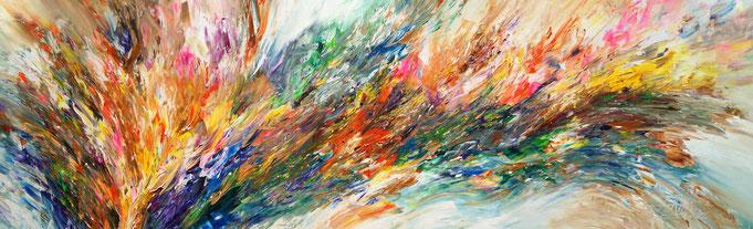 Abstrakte Mlaerei. Modernes Gemälde