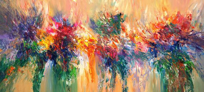 abstrakte Malerei. Modernes Gemälde