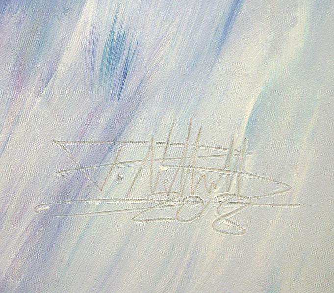 Signatur und Entstehungsjahr