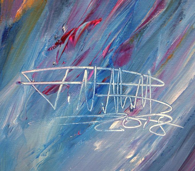 abstrakte Gemälde Kunstmaler Peter Nottrott