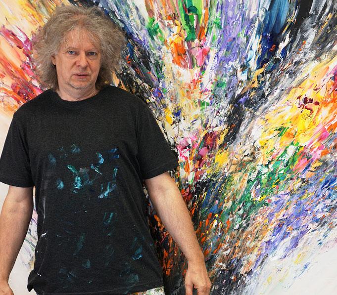 geraade fertig gemalt: Peter Nottrott mit Remember These Days XL 1