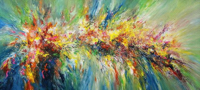 Großformat Gemälde, abstraktes Original