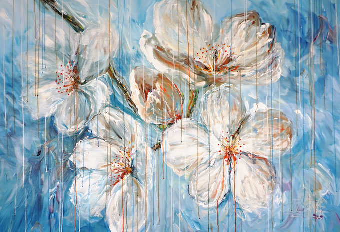 Blumengemälde