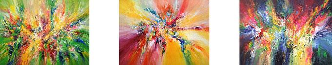 abstrakte Gemälde Galerie