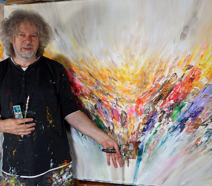 Fast fertig: Peter Nottrott mit Positive Energy XL 1
