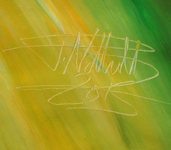Signatur Kunstmaler Peter Nottrott