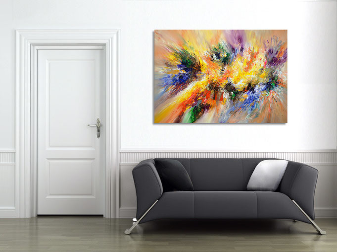 acryl, Gemälde, Original, Kunst, modern, Malerei
