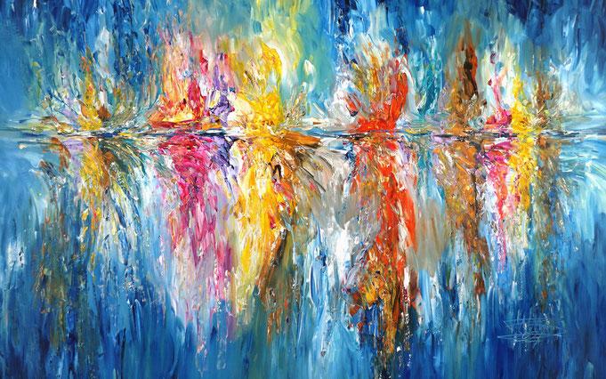 Wellen - Gemälde