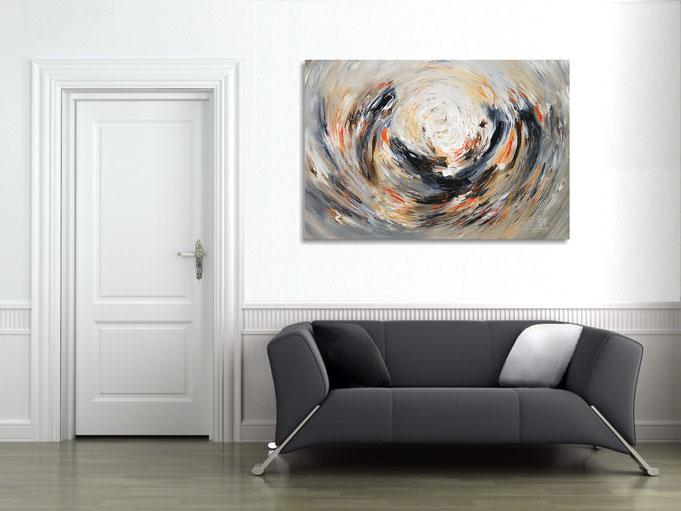 Natur, acryl, Gemälde, Original, Kunst, modern