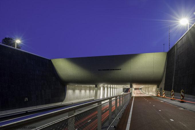 egbertdeboer.com, M.C. Escher Akwadukt, Leeuwarden, Friesland