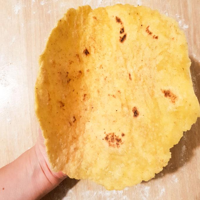 Tortillas sans gluten et pas friable !