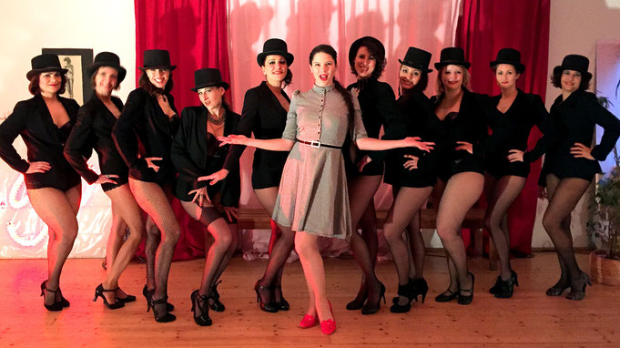 Burlesque Workshop mit Fanny di Favola