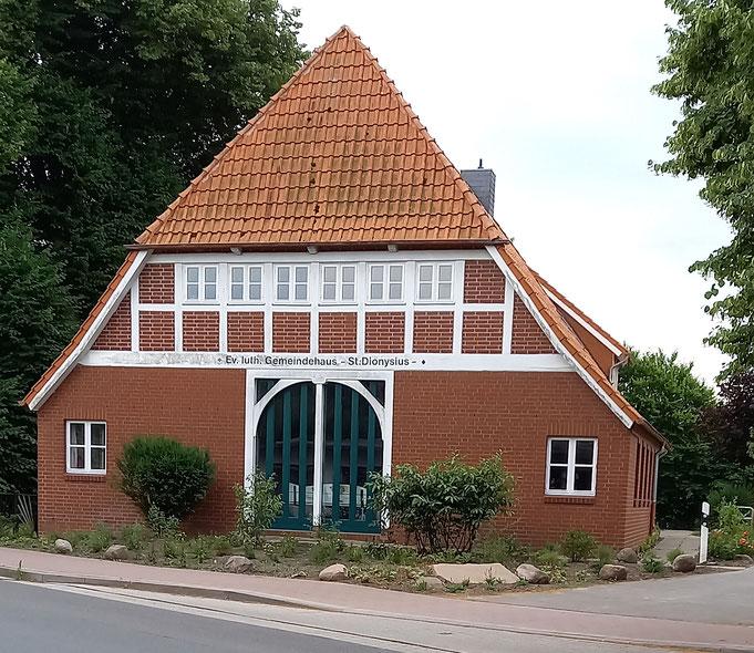 Unser Übungsraum im Ev.luth.Gemeindehaus St.Dionysius in Hamelwörden