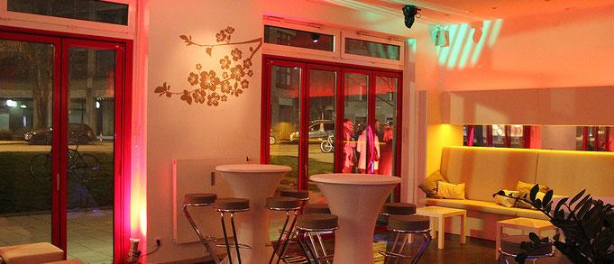 Geburtstagsparty in der Location in München