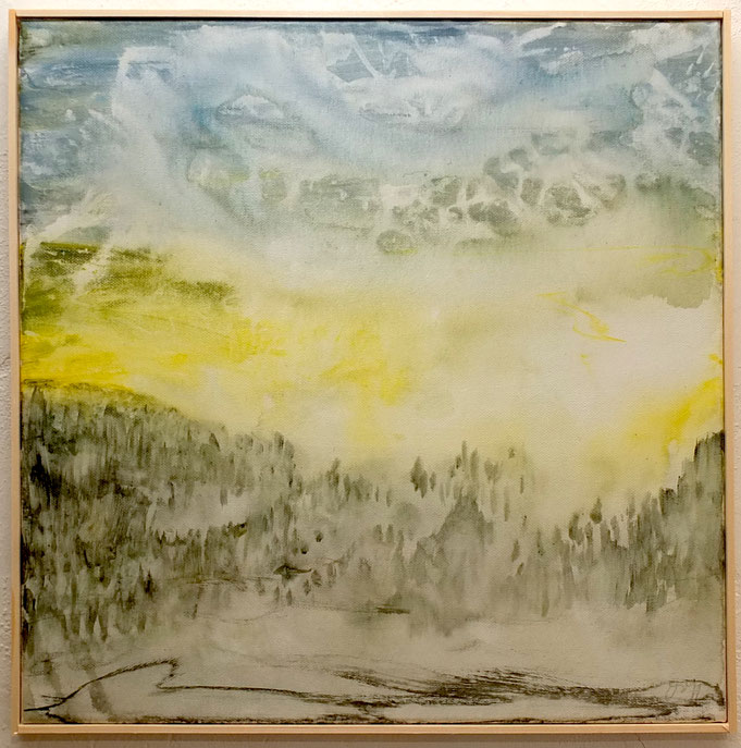 nature in heaven 2020, 40x40cm