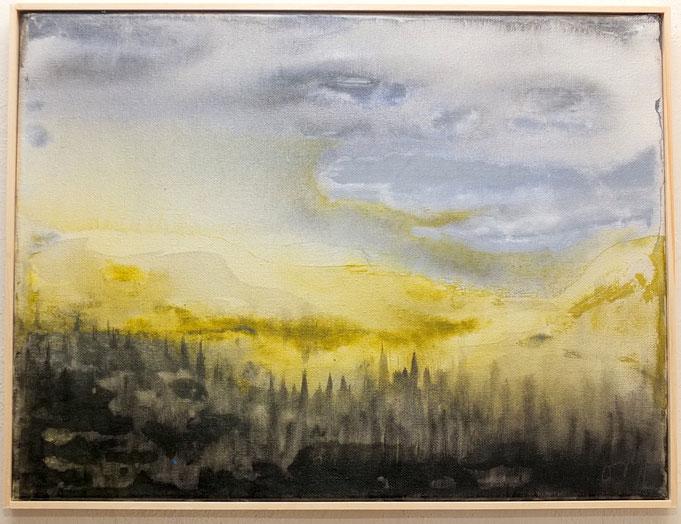 nature in heaven 2019, 40x30cm