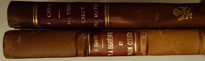 livres rares anciens, Francis Carco