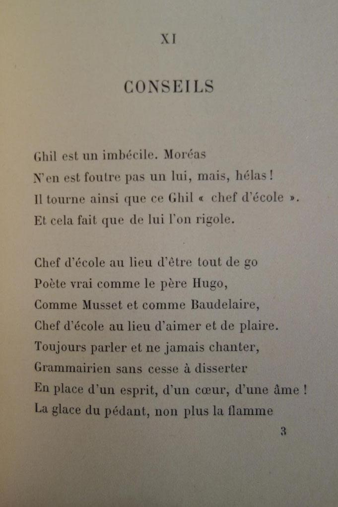 Paul Verlaine, Invectives, Léon Vanier, 1896, livre rare, édition originale
