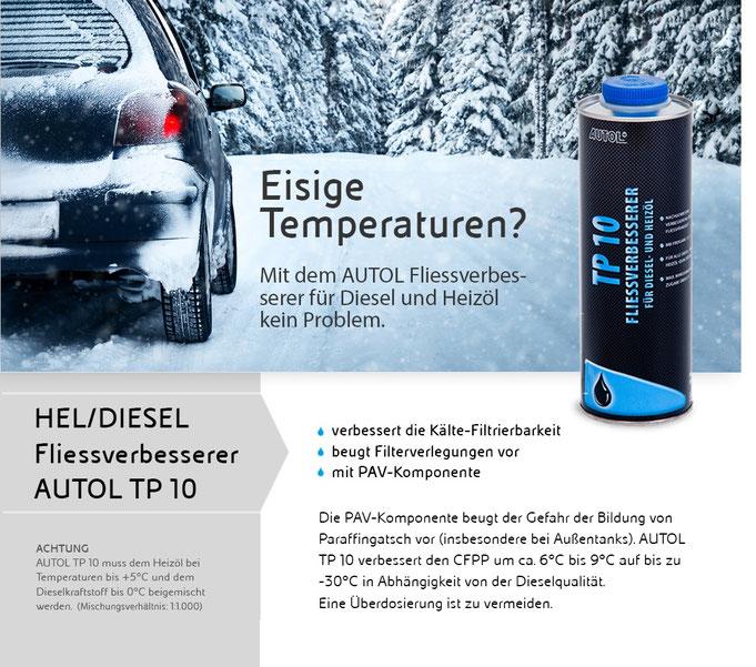 Bild/Flyer: Autol TP 10 HEL/Diesel Fliessverbesserer